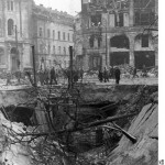 Berlin, destroyed subway station at Hausvogteiplatz. Bundesarchiv, Bild 183-J31342 / CC-BY-SA