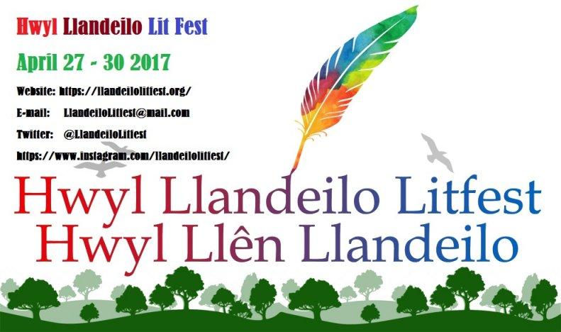 Haydn will be at the Llandeilo Literary Festival