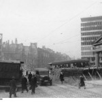 Berlin, barricade on Potsdamer Platz April 1945. Bundesarchiv, Bild 183-R71639 / CC-BY-SA